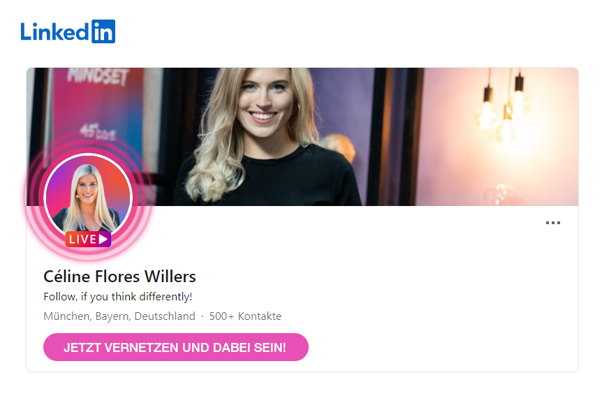 Céline Flores Willers LinkedIn